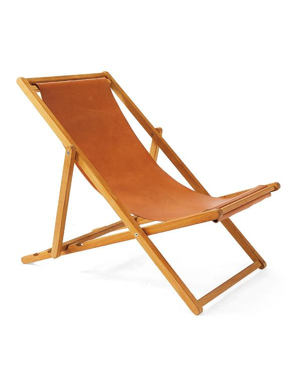 Blue Or Grey Sling Chair
