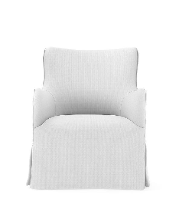 Superb Clayton White Upturned Arms Wing Swivel Chair Pdpeps Interior Chair Design Pdpepsorg