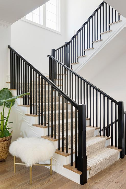 Faux Staircase Wall Panel Design Ideas