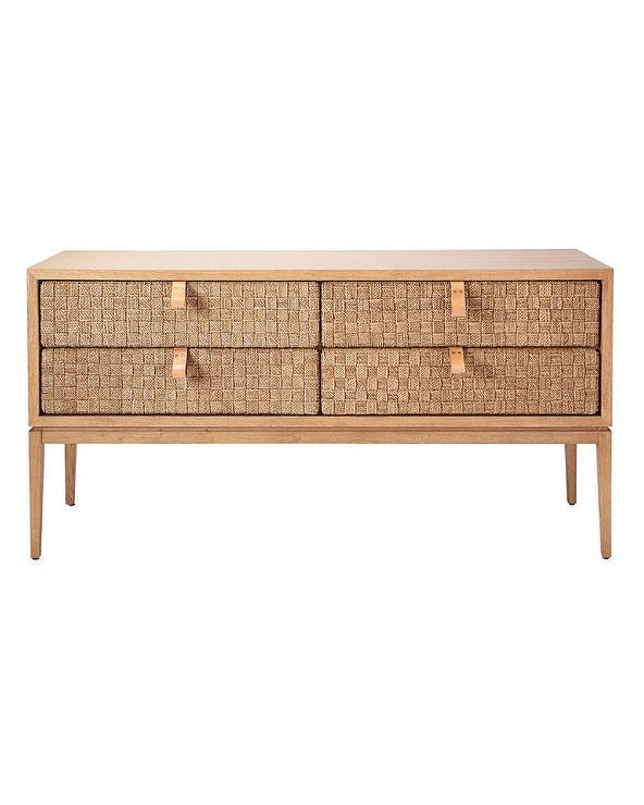 Cool Caledonia Woven Seagrass Drawers Oak Console Table Gmtry Best Dining Table And Chair Ideas Images Gmtryco
