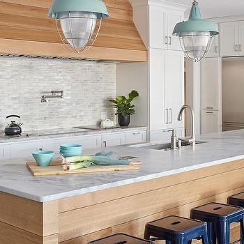 Mint Green Kitchen Island Design Ideas