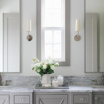 Gray Bathroom Vanity