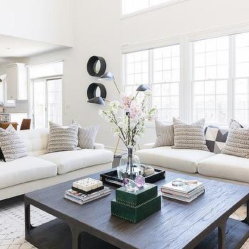 Magnificent Black Stripe Waterfall Coffee Table Design Ideas Evergreenethics Interior Chair Design Evergreenethicsorg