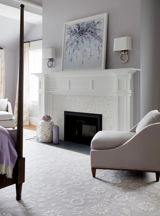 Purple And Gray Bedroom Design Ideas