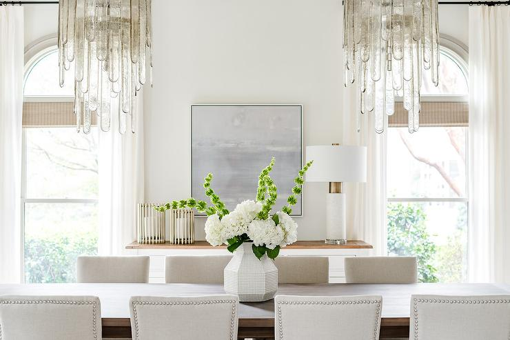 Window Treatments For Multiple Windows Traditional