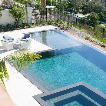 Infinity Pool Spa Design Ideas