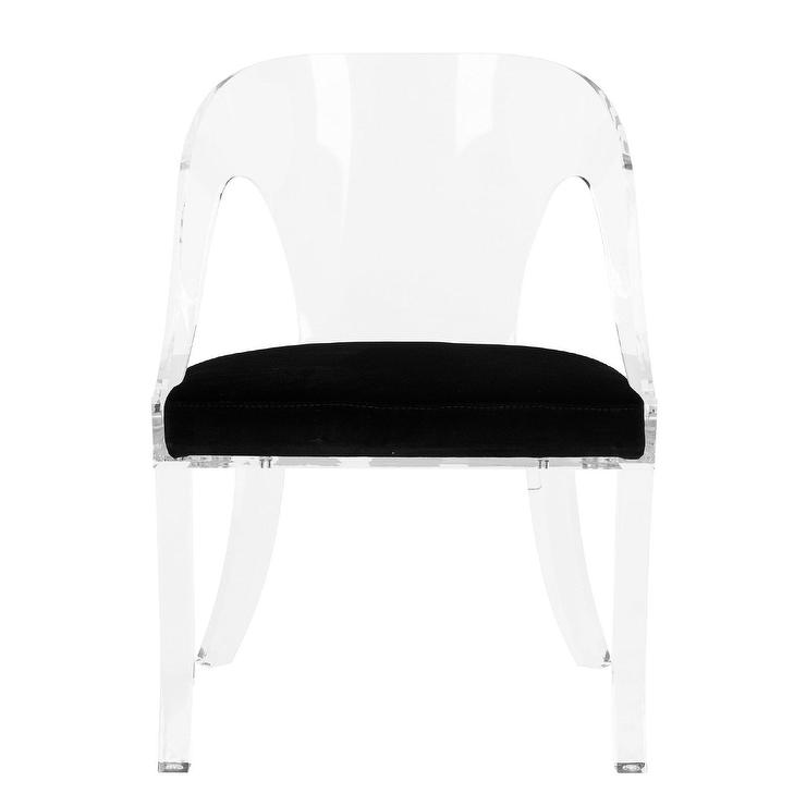 Fantastic American Atelier Living Wynona Black And White Cushion Chair Pabps2019 Chair Design Images Pabps2019Com