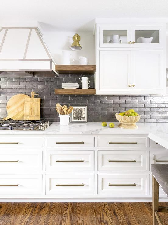 Brittanica Quartz Kitchen Counters - Transitional - Kitchen