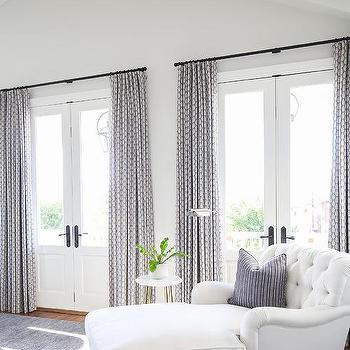 Master Bedroom French Doors Design Ideas