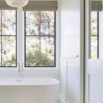Two Windows Over Tub Design Ideas