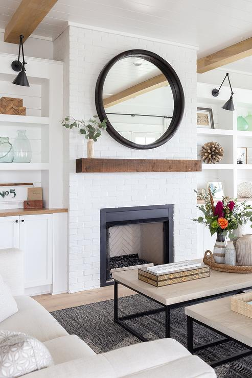 Free Floating Shelves Living Rooms