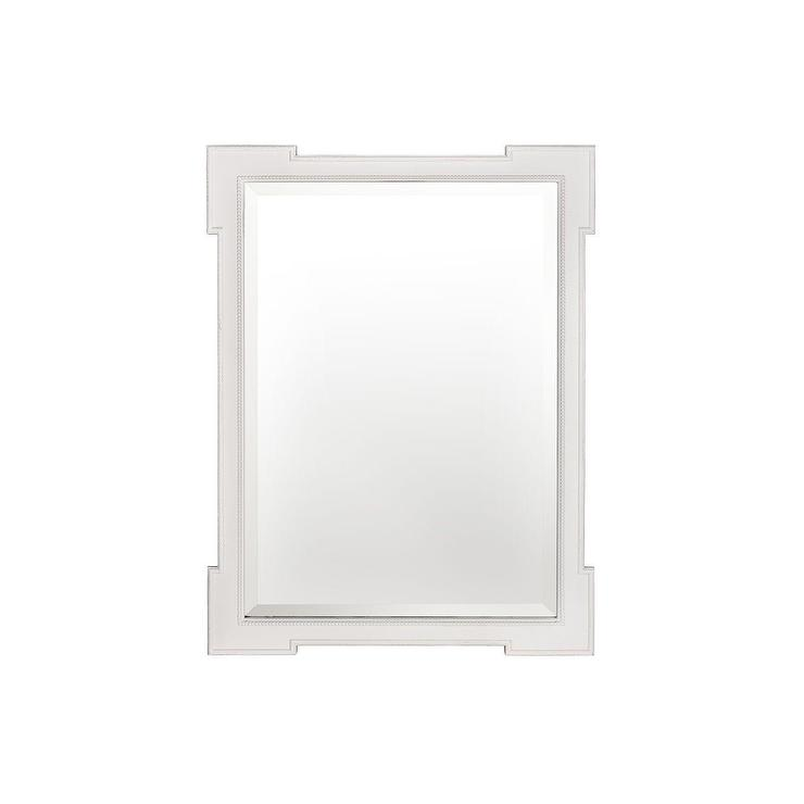 Metropolitan Mirror With Shelf Pottery Barn