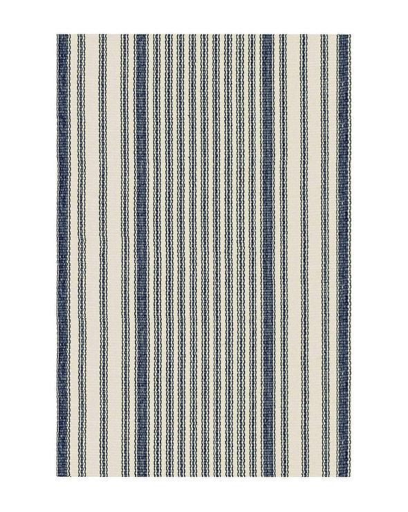 Kilim Blue Stripe Rug