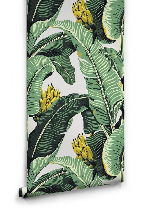 Jungle Palm Leaves Green Yellow Wallpaper 'yellow tropical leaves' poster print by enrique anonat iii superior quality easy magnet mounting worldwide shipping. jungle palm leaves green yellow wallpaper