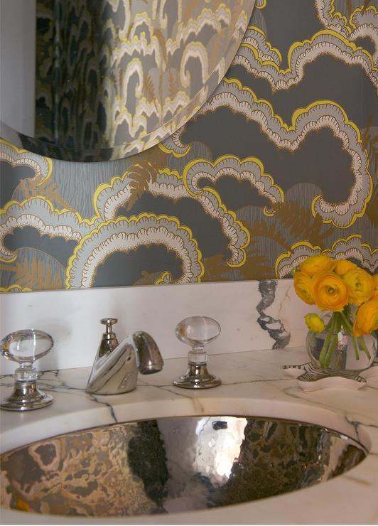Williams Sonoma Home Five Panel Beveled Mirror