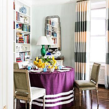 Purple Velvet Chairs Design Ideas
