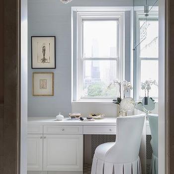 Bathroom Vanity Under Window