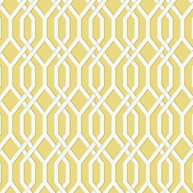 Lattice Bamboo Raspberry Fabric Calico Corners