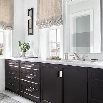 Window Over Bathroom Vanity Design Ideas