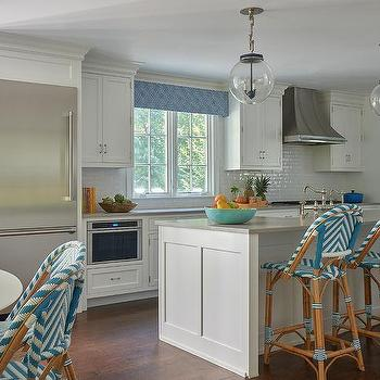 Kitchens Turquoise Blue And Gray Design Ideas