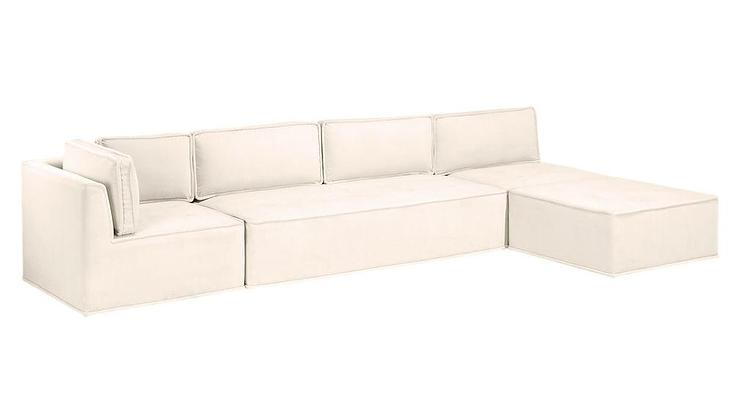 Sinatra Blue Sectional