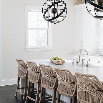Astonishing Beige Rope Counter Stools Design Ideas Pabps2019 Chair Design Images Pabps2019Com