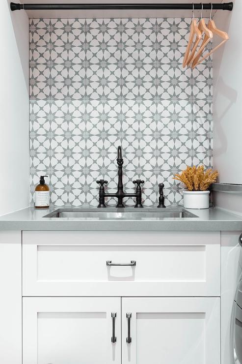 Gray Cement Tiles Design Ideas