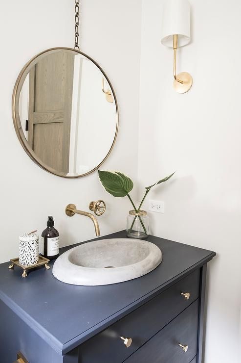 Brass Wall Mirror Design Ideas