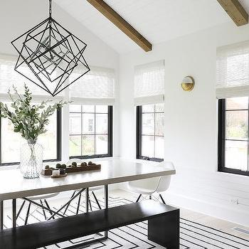 Vaulted Dining Room Ceiling Design Ideas