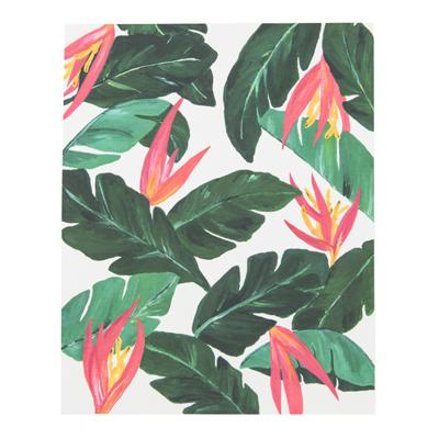 Palm Pink Green Tropical Leaves Print Buy tropical leaves ii art print by catyarte. palm pink green tropical leaves print