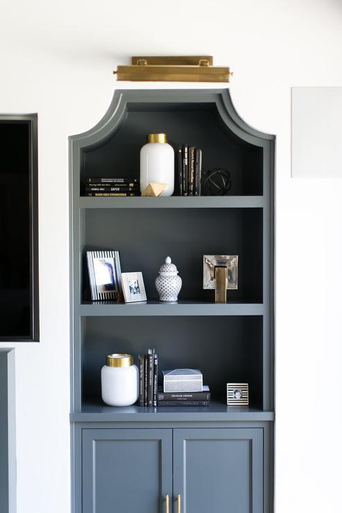 Peachy Black Built In Bookcase Design Ideas Home Interior And Landscaping Fragforummapetitesourisinfo