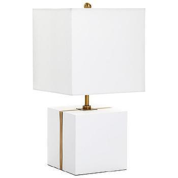Montecito Mirrored Table Lamp I Horchow