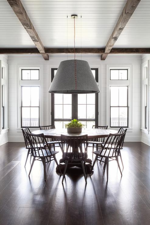 Dining Room With Lots Of Windows Design, Dining Room Windows