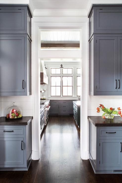 Black Screen Kitchen Pantry Door Cottage Dining Room
