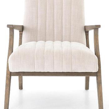 Barbara Barry White Tufted Furniture