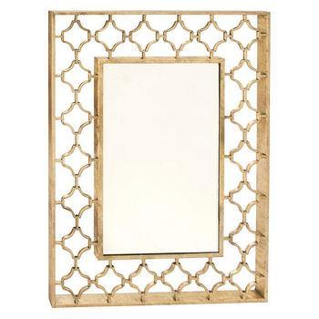Uttermost Lourosa Gold Mirror