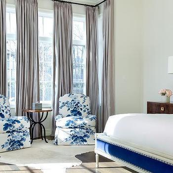 Blue Master Bedrooms Design Ideas