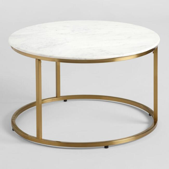 Reeve Mid-Century Grey And Brown Coffee Table