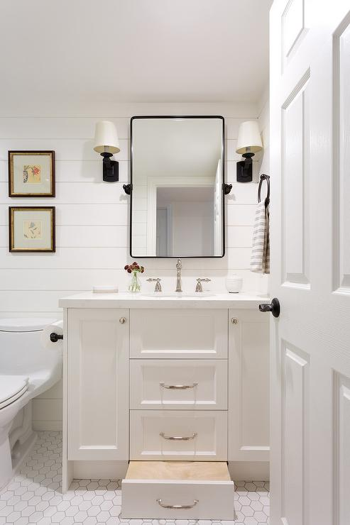 Built In Bathroom Cabinets Design Ideas
