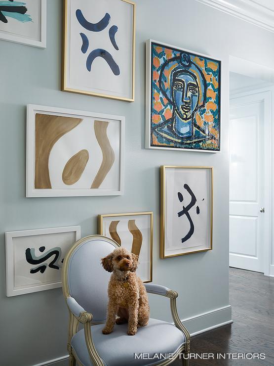 Trellis Rug Contemporary Living Room Lonny Magazine