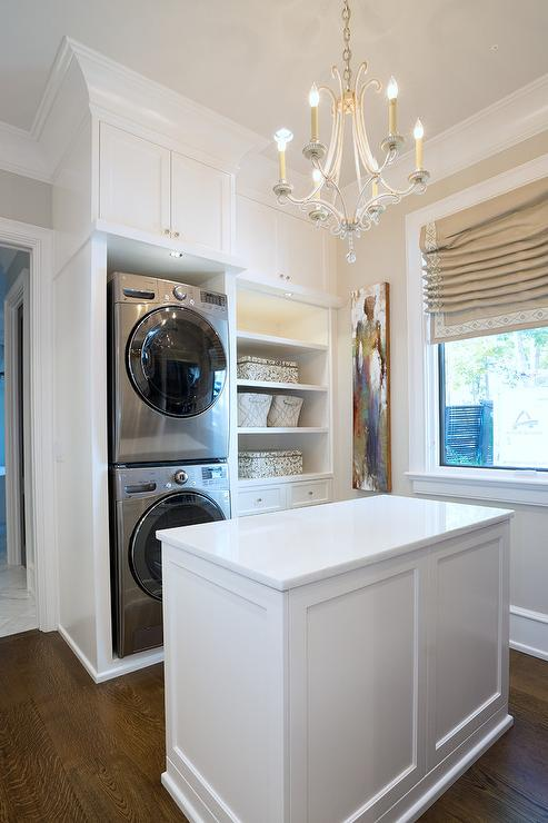Walk In Closet Laundry Room Design Ideas