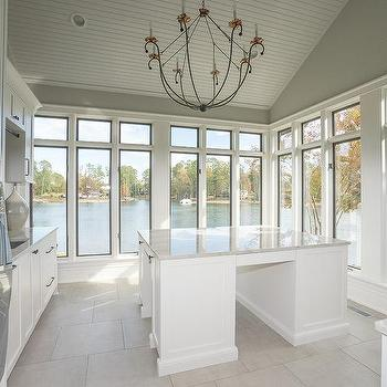 Vaulted Ceiling Laundry Room Design Ideas