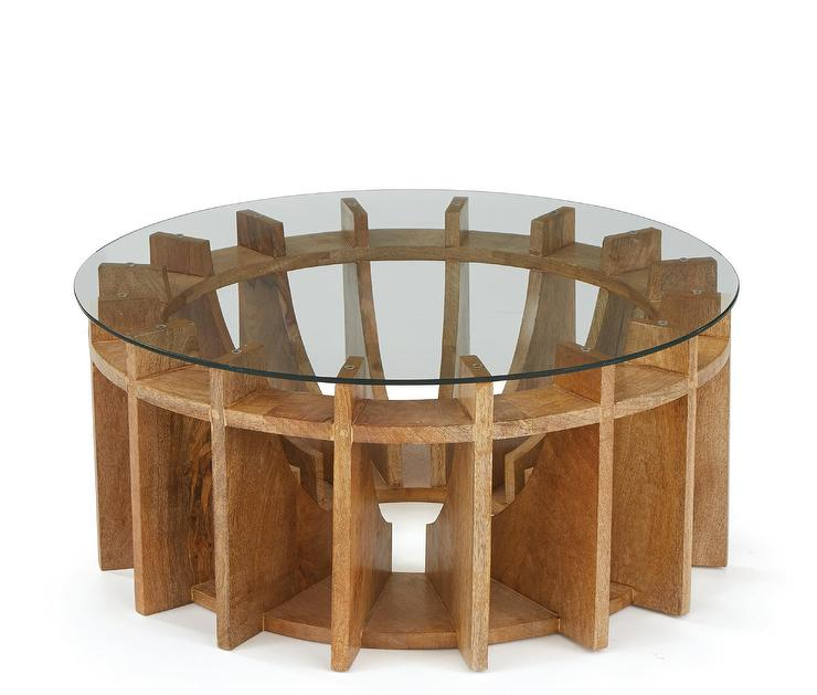 Terrific Opalhouse Tachuri Geometric Front Wood Coffee Table Inzonedesignstudio Interior Chair Design Inzonedesignstudiocom