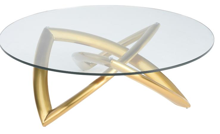 Stupendous Hera Round Geometric Gold Glass Top Coffee Table Andrewgaddart Wooden Chair Designs For Living Room Andrewgaddartcom