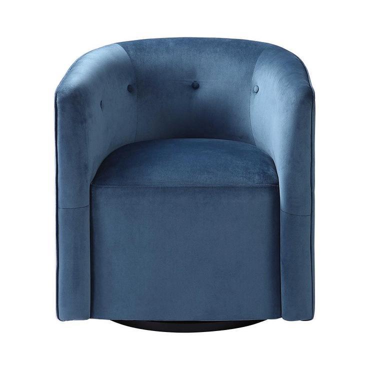 Hourglass Flax Swivel Office Chair
