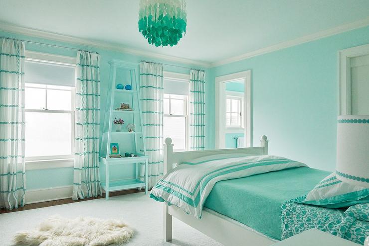 Room Decor Bedroom Teenage Blue