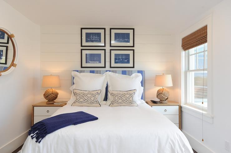 Bedroom Shiplap Accent Wall Design Ideas