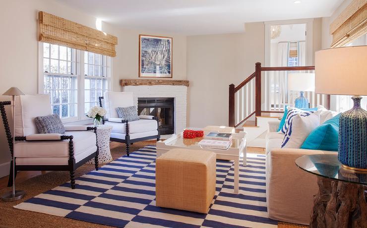 Marvelous Corner White Brick Fireplace Cottage Living Room Home Interior And Landscaping Transignezvosmurscom