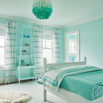 Aqua Curtains Design Ideas