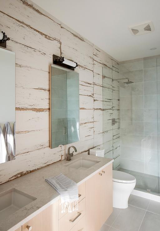 Full Wall Mirror Transitional Bathroom Scott Lyon